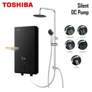 Toshiba Instant Electric Water Heater with Pump