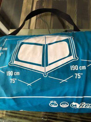 迪卡儂防風遮陽帳篷