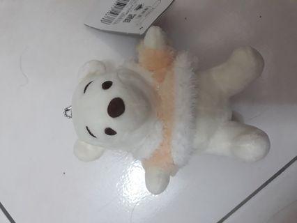 小熊維尼winnie the pooh白色小熊娃娃玩偶公仔玩具