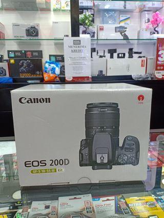 Canon EOS 200D Syarat KTP Acc Hari Ini