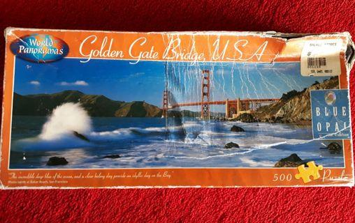 Puzzle Golden gate Bridge , USA, Special edition
