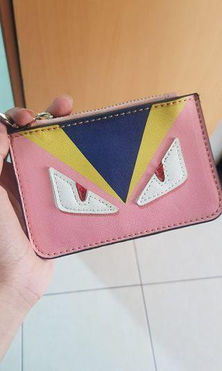 Fendi monster coin purse