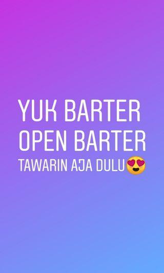 Yuk barter open barter