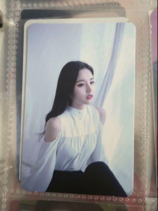 WTT Loona Heejin photocard XX ver B
