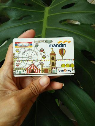 Kartu EMoney Mandiri - Original (harga Pemilu)