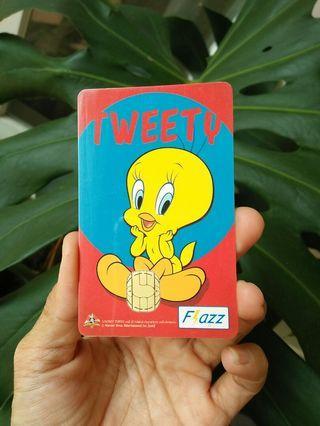 Kartu Flazz BCA Tweety - Original (turun harga)