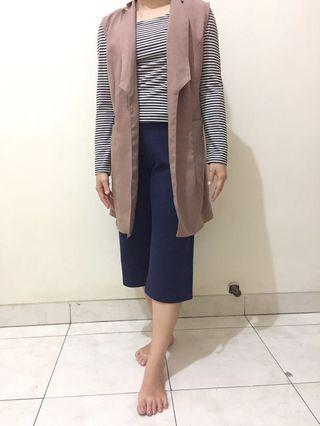 #1010flazz Brown Vest Wanita / Outerwear Coklat