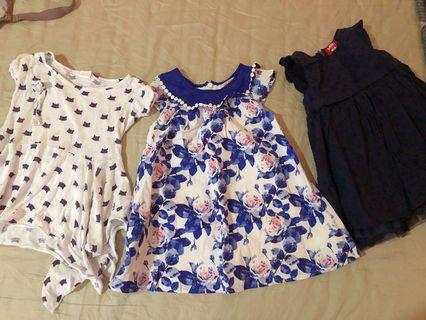 Dresses for 1-2yo