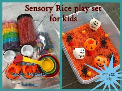 Sensory Rice Play Set