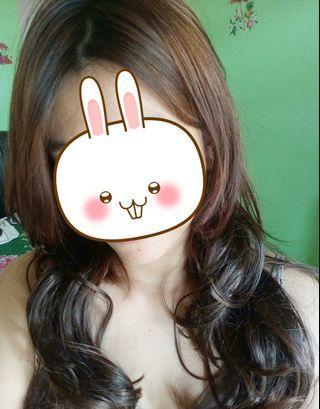 Hair clip dark brown