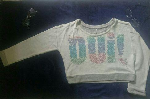 Baju crop sixtyone bisa jadi sweater juga