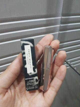 Fenty Beauty Mattemoiselle Lipstick shade Thicc  Sample Size
