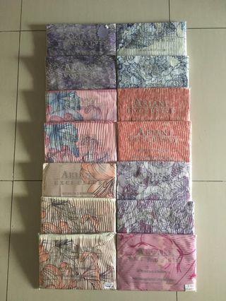 Ariani shawl printed pleated