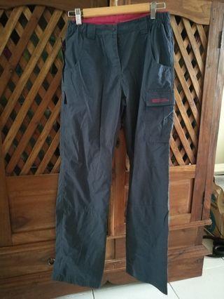 Mountain Warehouse hiking pants in dark blue