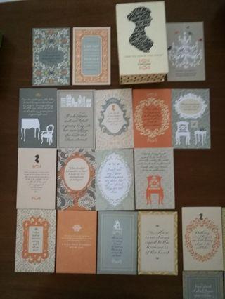 Jane Austen 79 postcards