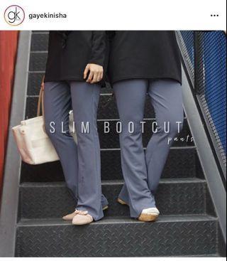 Slim Bootcut Gayekinisha