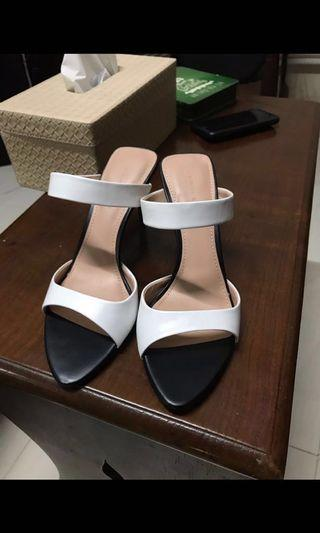 Charles & Keith High Heels White Stiletto