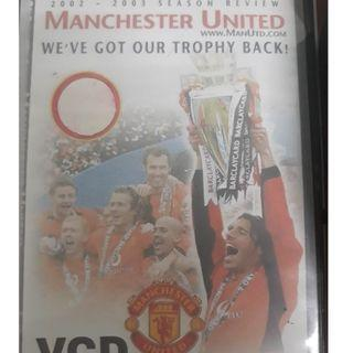 Manchester United We've Got Our Trophy Back 2002/03 Season Review VCD