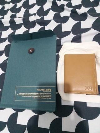 Welkin & Spine signature medium wallet