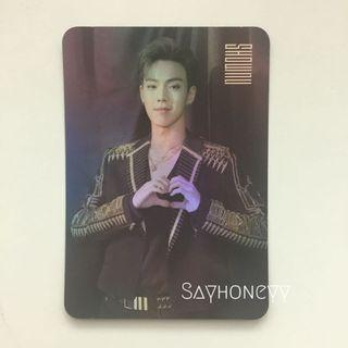Monsta X Shownu We Are Here hologram photocard