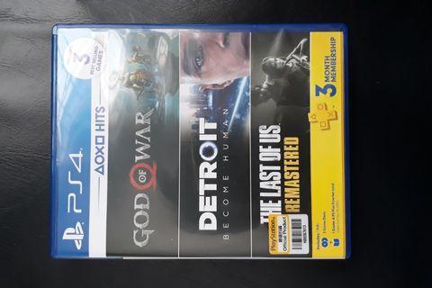[PRE OWNED] God of War & Detroit Become Human