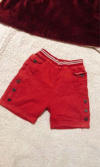 出門跑步🏃 紅休閒運動褲