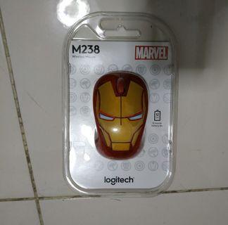 New Ori Logitech Mouse Marvel Ironman Wireless