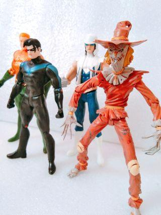 Dc Figure set Toys not neca marvel hasbro