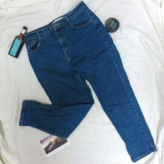 《免運》深藍牛仔長褲#五折清衣櫃