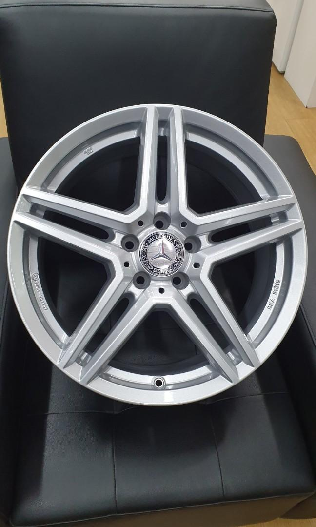 18 Rial M10 5x112 for Mercedes