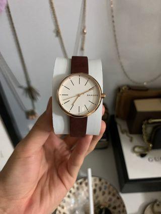 Authentic Skagen women's watch rose gold
