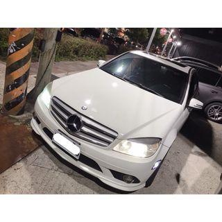 【FB搜尋桃園阿承】賓士 超人氣C300 2010年 3.0 白色 二手車 中古車