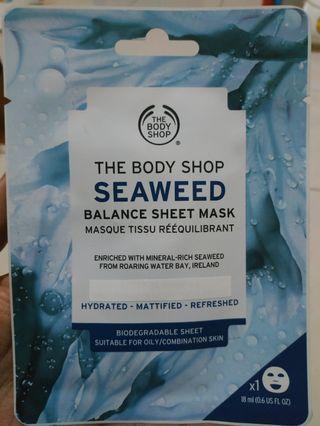 The Body Shop Seaweed Mask
