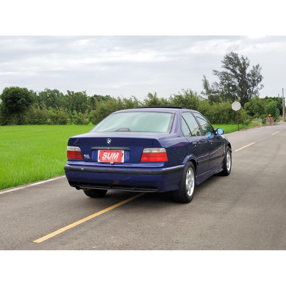 1996年寶馬BMW E36 318I 自排 只要7.8~ 輕鬆加入雙B行列!!