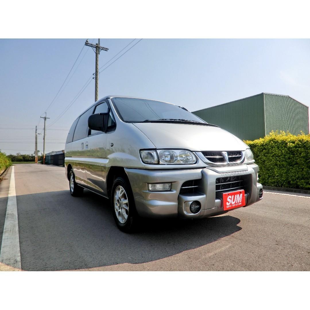 2000年三菱 SPACE GEAR 2.4L稀有長軸 自排 客貨兩用省稅金!! 商用車!!