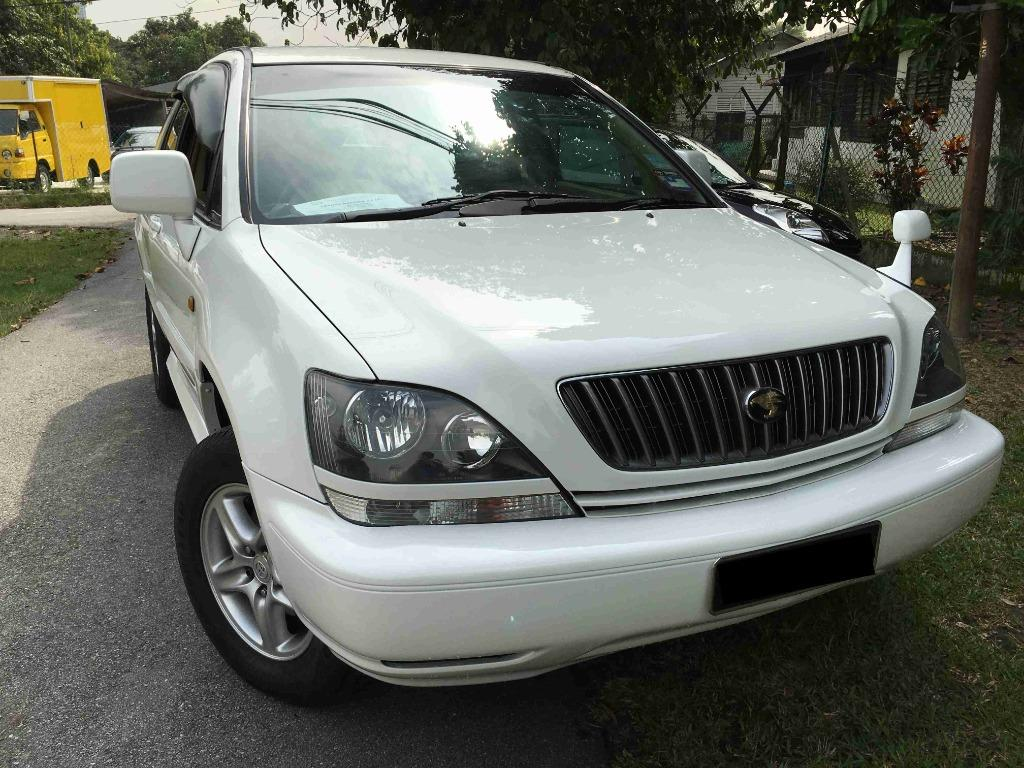 2002 Toyota Harrier 2.4 Premium (A) One Owner Tip Top
