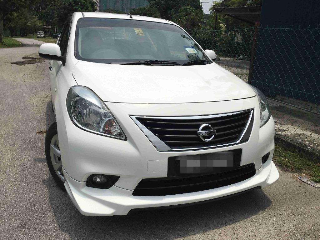 2013 Nissan Almera 1.5 VL (A) Keyless Push Start One Owner