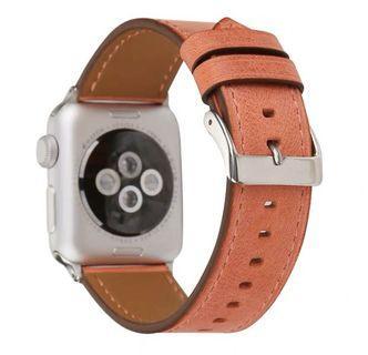 兩件免運 精品3C 蘋果真皮錶帶