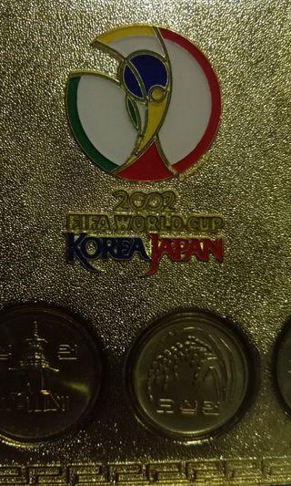 2002 World Cup Korea Coin set