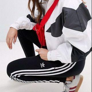 adidas 愛迪達 三條線 長褲 縮口褲