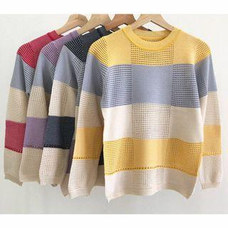 BL1390 Sweater rajut import kaos rajut import sweater import wanita sweater rajut kekinian