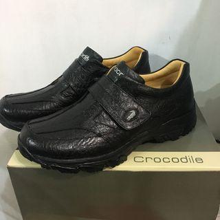 Crocodile 皮鞋(黑)