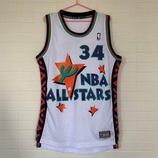 正品 NBA Jersey 球衣 復古 歐拉朱萬