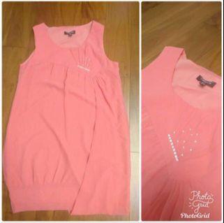 精品店 Miyabe背心洋裝 L,ML可穿,這件顏色很美