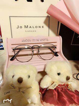 Shih🎀(現貨優惠🎉)👓時尚單品平光金屬眼鏡