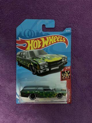 Hot Wheel Chevelle SS Wagon