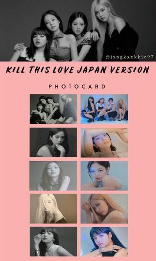 WTB BLACKPINK KILL THIS LIVE JAPANESE VERSION PC