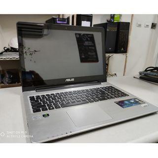 【電電電腦】ASUS 華碩 二手 15.6吋 i5 筆電 VivoBook S550C (LOL/楓之谷/卡丁車/模擬器) 有店面/貨到付款