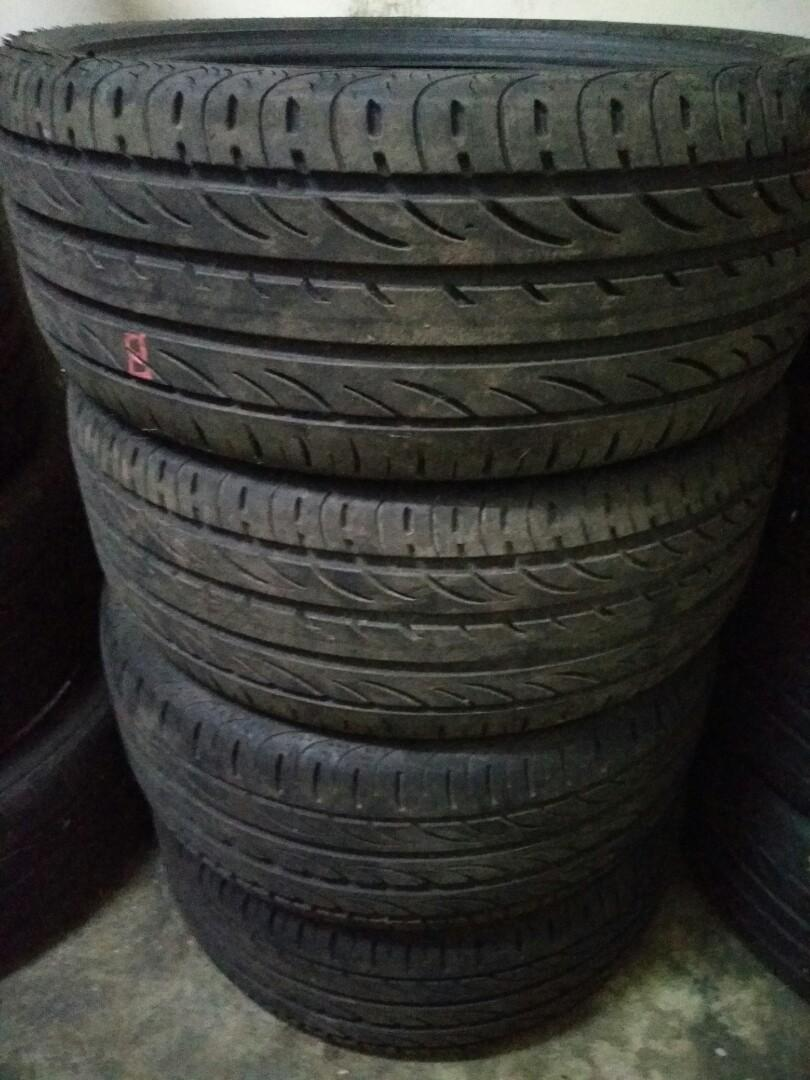 225 40 18 Pirelli zero Nero Tayar 98%