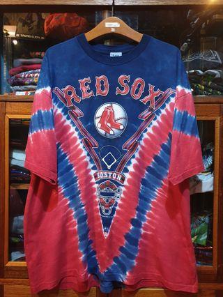Vintage Tie dye MLB Boston Red Sox Tshirt